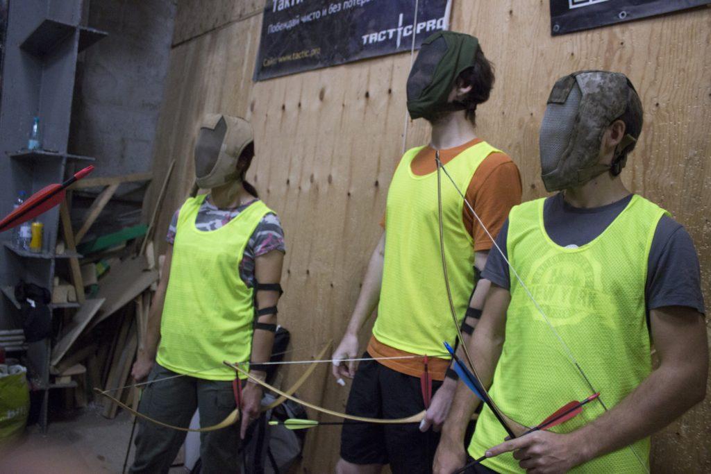 Арчеритаг-клуб Archery Банда в Москве